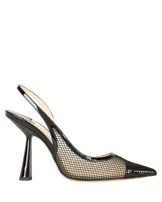 Fetto 100 Slingback Pumps, BLACK, hi-res
