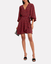 Boina Wrap Dress, RED, hi-res