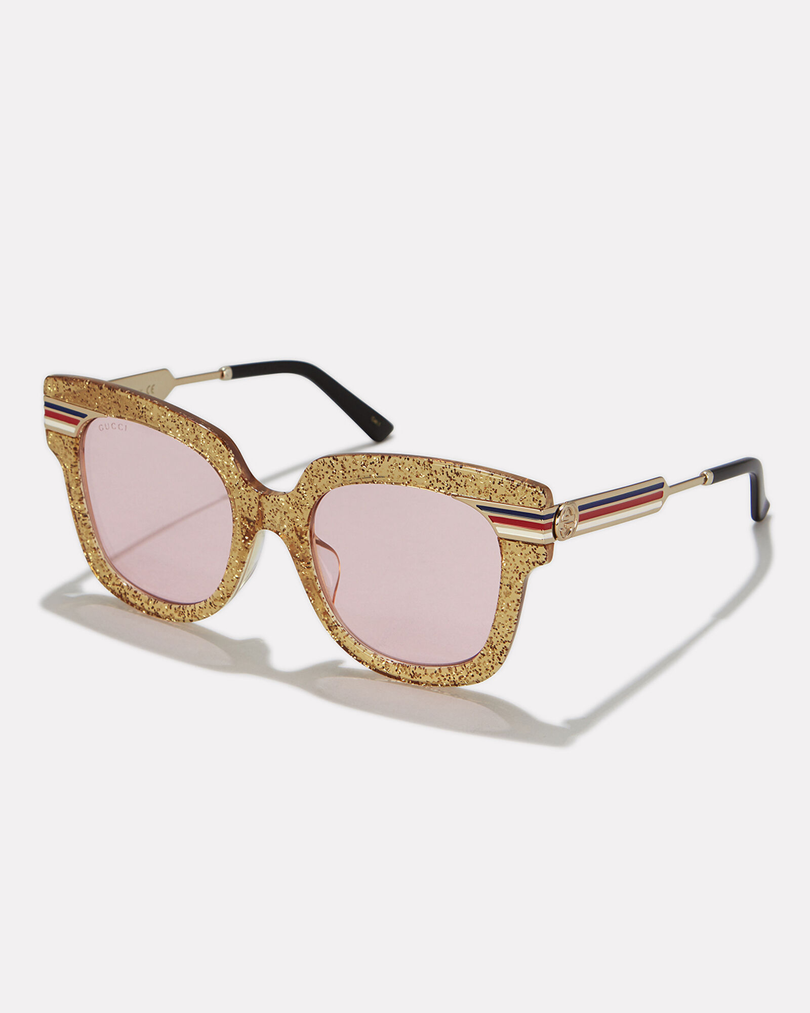 Glitter Sunglasses, GOLD/PINK, hi-res