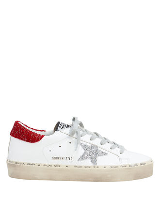 Hi Star Swarovski-Embellished Low-Top Sneakers, WHITE, hi-res