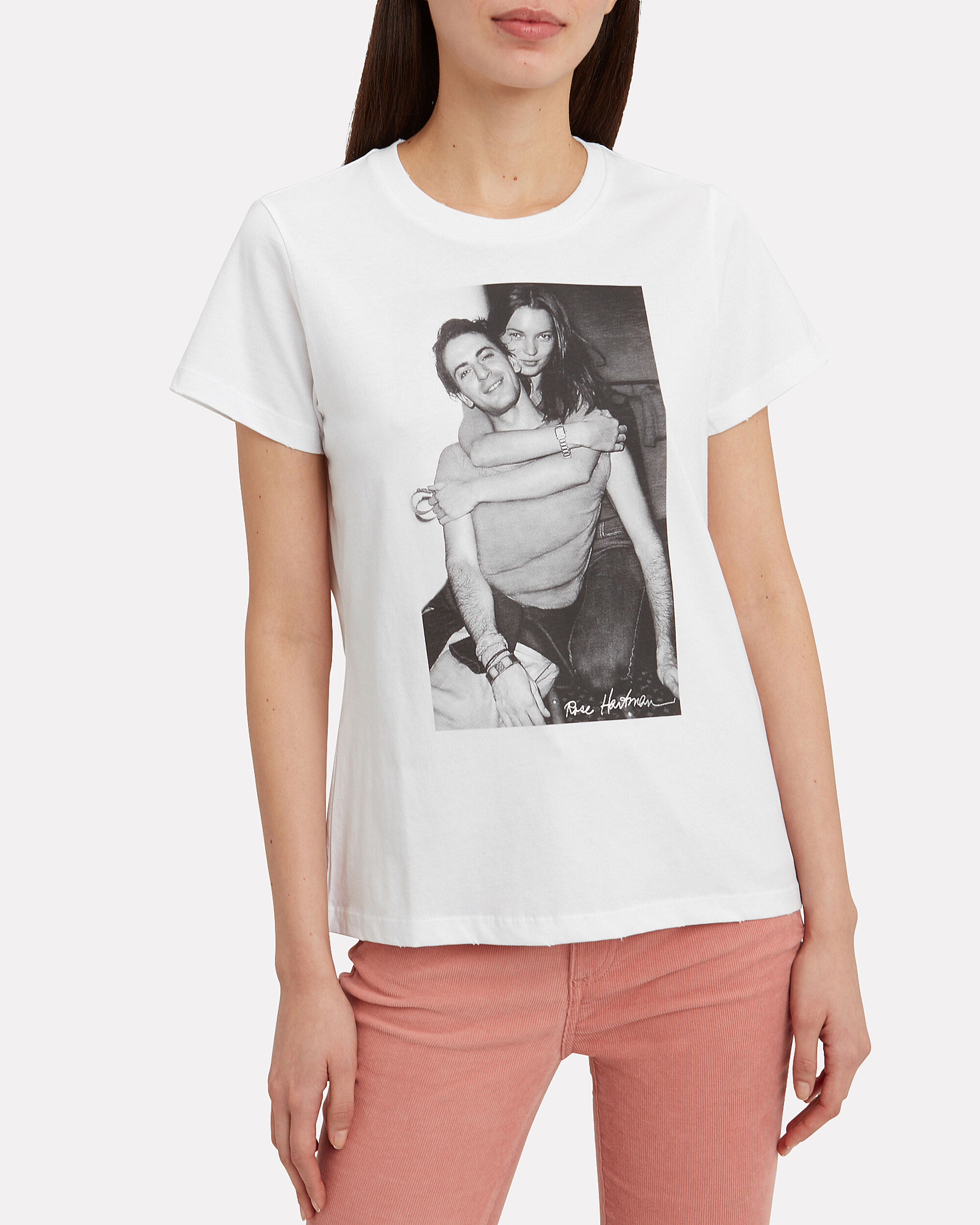 Marc And Kate T-Shirt, WHITE, hi-res
