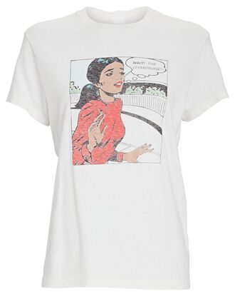 70s Loose The Champagne T-Shirt, IVORY, hi-res
