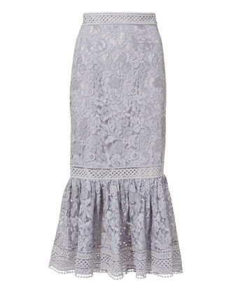 Sovereign Midi Skirt, GREY-LT, hi-res