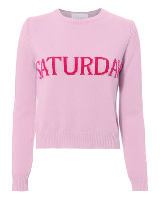 Saturday Sweater, PINK, hi-res