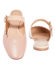 Lauren Slip-On Mules, PINK, hi-res