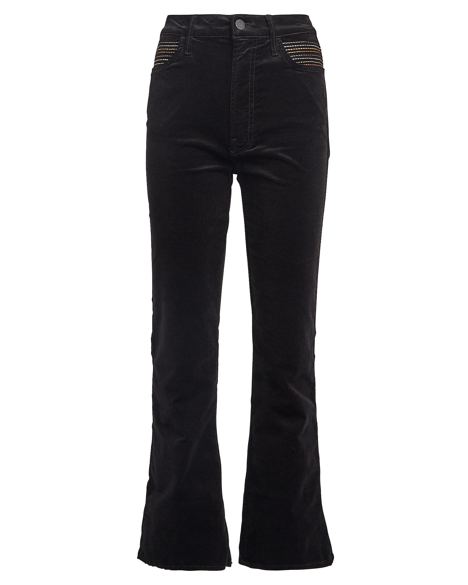 The Smooth Hustler Velvet Jeans, BLACK, hi-res