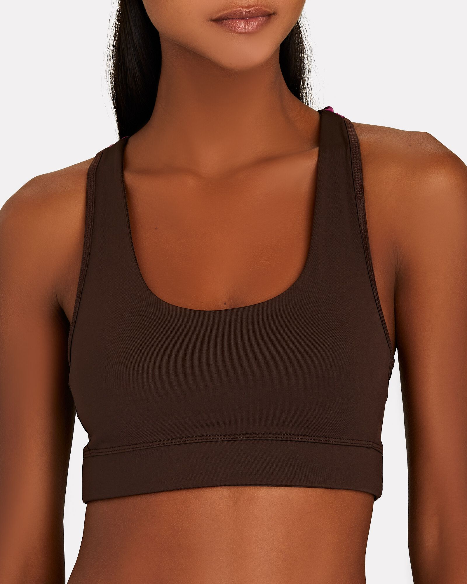 Lilabelle Sports Bra, BROWN, hi-res