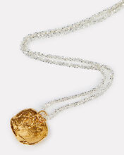 A Captured Memory Medal Necklace, GOLD, hi-res