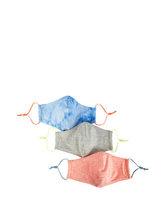 Cotton Face Mask 3-Pack, MULTI, hi-res