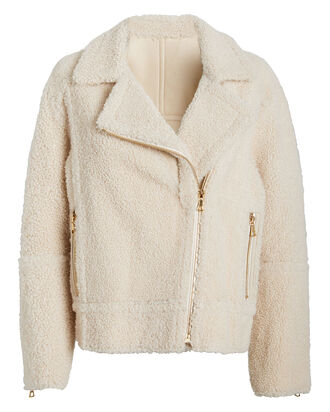 Reversible Merinillo Shearling Jacket, CREAM, hi-res
