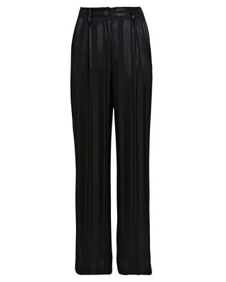 Hayes Striped Trousers, BLACK/STRIPE, hi-res