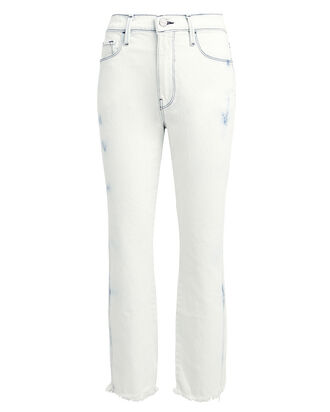 Le Sylvie Tie-Dye Jeans, WHITE WASH DENIM, hi-res