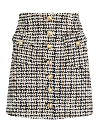 Coco Tweed Mini Skirt, MULTI, hi-res