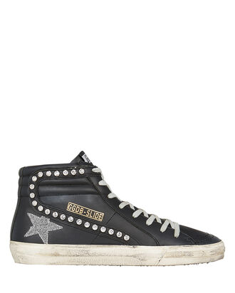 481f86145bbe Superstar Swarovski Crystal High Top Sneakers. Golden Goose ...