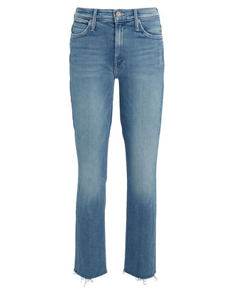 The Dazzler Slim Straight-Leg Jeans, LIGHT WASH DENIM, hi-res