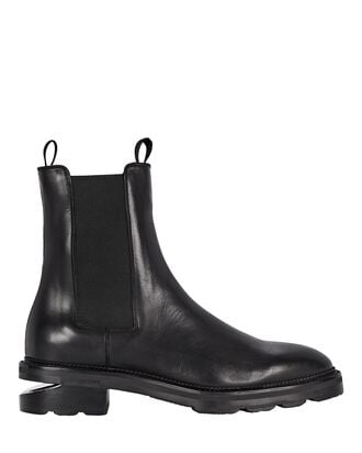 Andy Leather Chelsea Ankle Boots, BLACK, hi-res