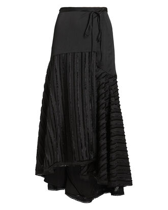 Danos Wrap Skirt, BLACK, hi-res