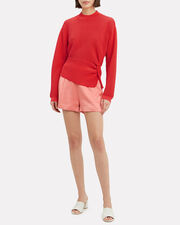 Twisted Sweater, CORAL, hi-res