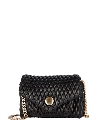 Small PS Harris Quilted Leather Bag, BLACK, hi-res