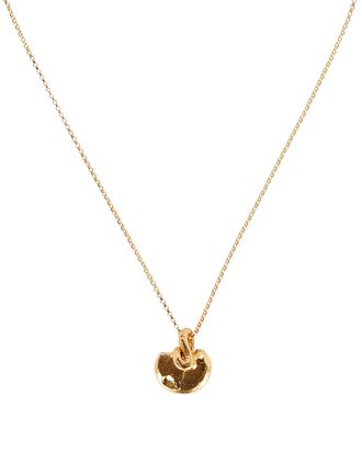 The Meteor In Free Fall Necklace, GOLD, hi-res
