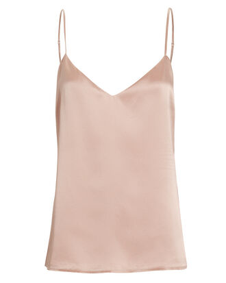 Jane Petal Satin Camisole, BLUSH, hi-res