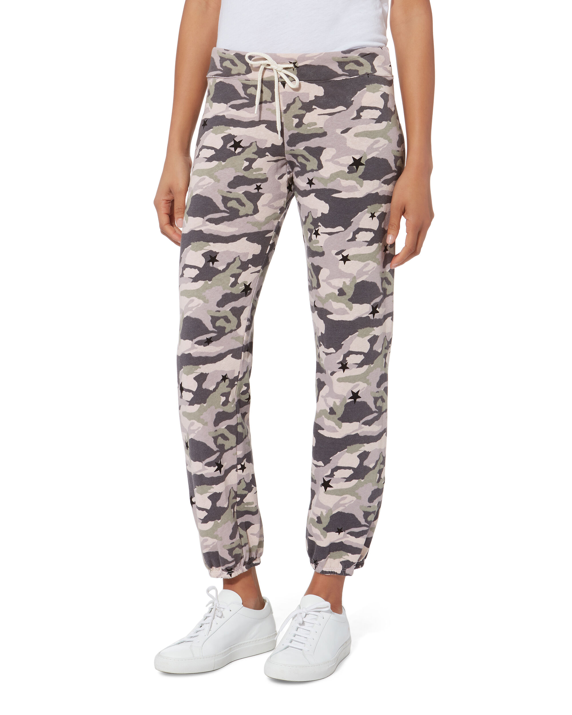 Camo Star Sweatpants, ROSE, hi-res