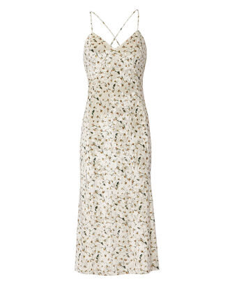Alicia Midi Dress, OFF-WHITE/FLORAL, hi-res