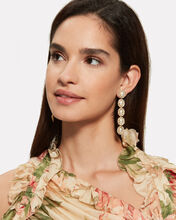 Von Drop Pearl Earrings, WHITE/GOLD, hi-res