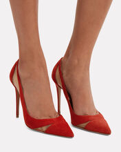 Savoy Pumps, RED, hi-res