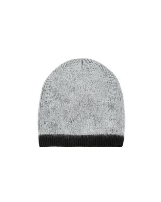 Colorblock Beanie, GREY/BLACK, hi-res