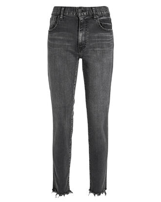 Westcliffe Distressed Jeans, CHARCOAL DENIM, hi-res