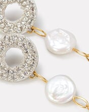 Chateau Pearl Drop Earrings, IVORY, hi-res
