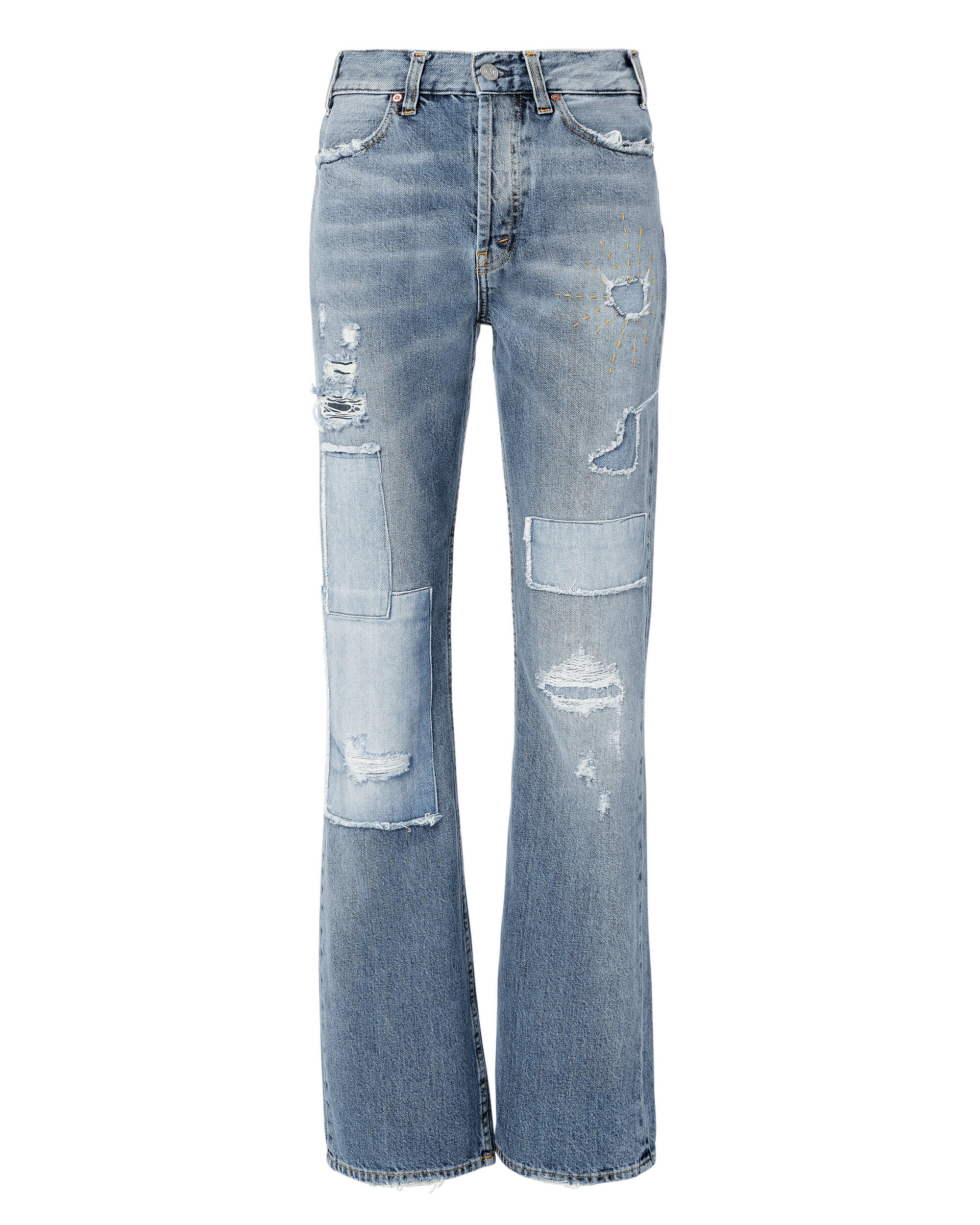 Stella Bell Bottom Jeans, DENIM, hi-res