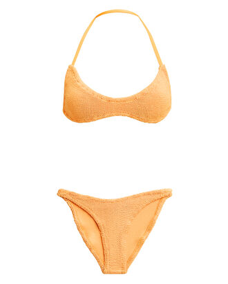 Collette Spice Tie Back Bikini, LIGHT ORANGE, hi-res
