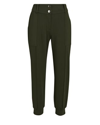 Chelsea Double Knit Joggers, OLIVE/ARMY, hi-res