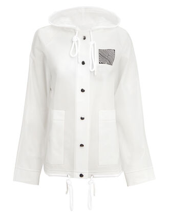 Care Label Clear Raincoat, CLEAR, hi-res