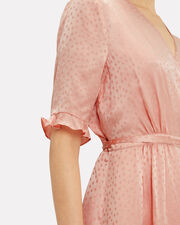 Adelita Wrap Dress, BLUSH, hi-res