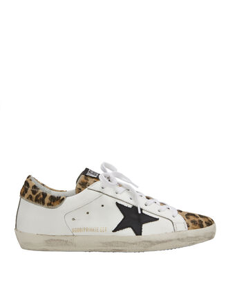 Superstar Leopard Low-Top Sneakers, WHITE/BLACK, hi-res