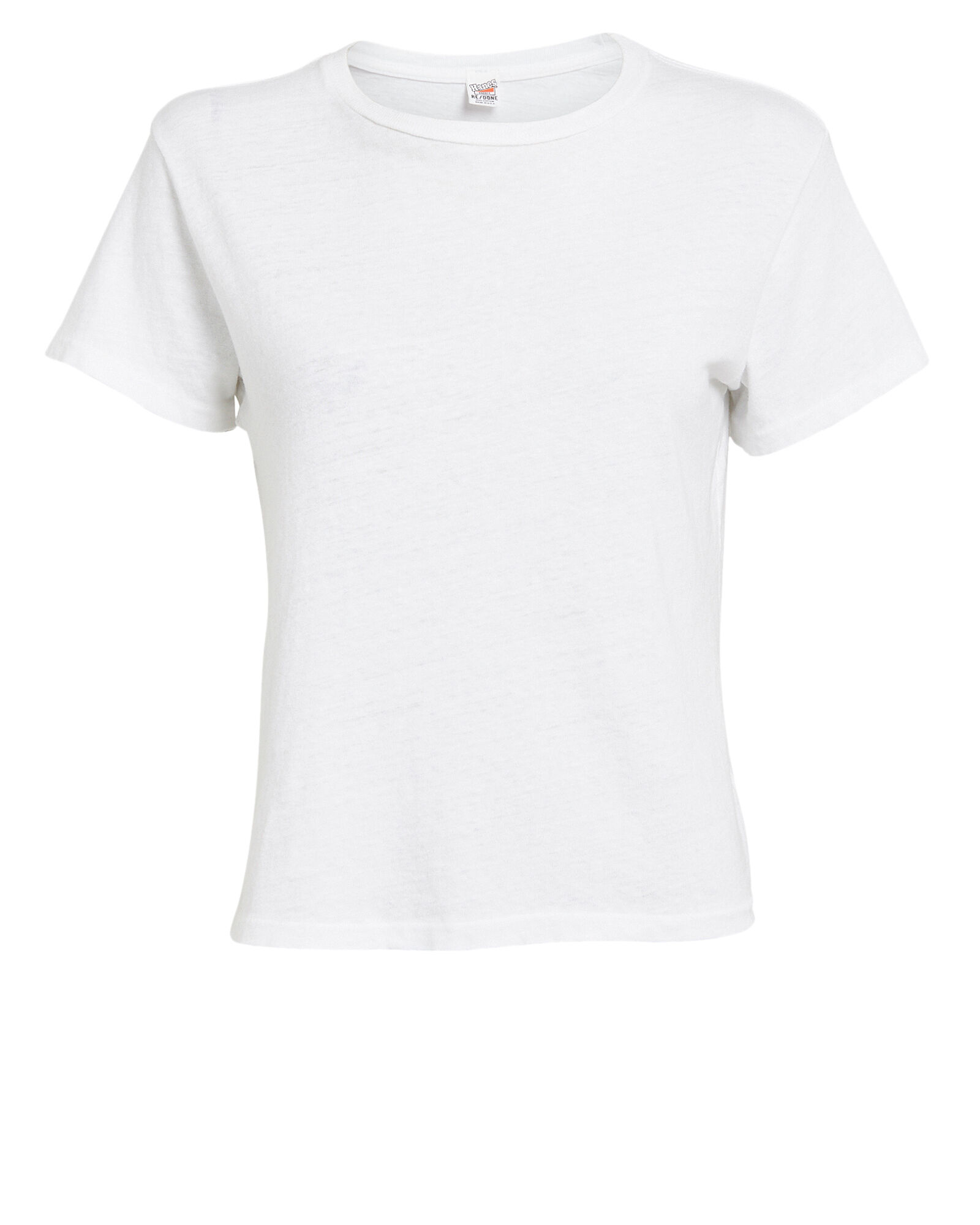 The Classic Crewneck T-Shirt, WHITE, hi-res