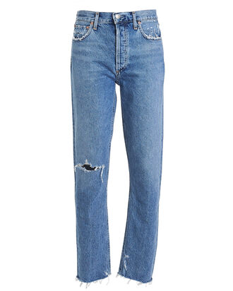 Jamie High-Rise Tapered Jeans, LIGHT WASH DENIM, hi-res