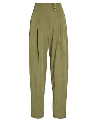 Pippa Straight-Leg Pants, OLIVE/ARMY, hi-res