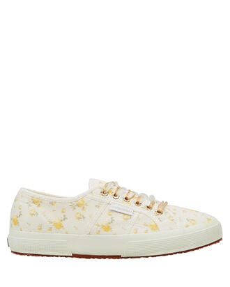 Superga x LoveShackFancy Provence Floral Sneakers, WHITE/MARIGOLD FLORAL, hi-res