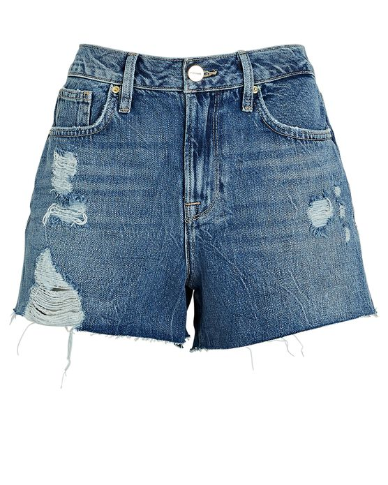 Frame Le Brigette Denim Cut-Off Shorts