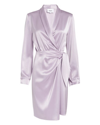 Siwa Lavender Satin Dress, LAVENDER, hi-res