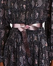 Lecce Knotted Leather Belt, PINK, hi-res