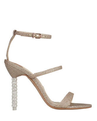 Rosalind Crystal Stiletto Sandals, CHAMPAGNE/GLITTER, hi-res