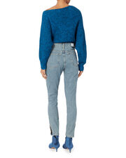 High-Rise Straight Leg Jeans, DENIM, hi-res