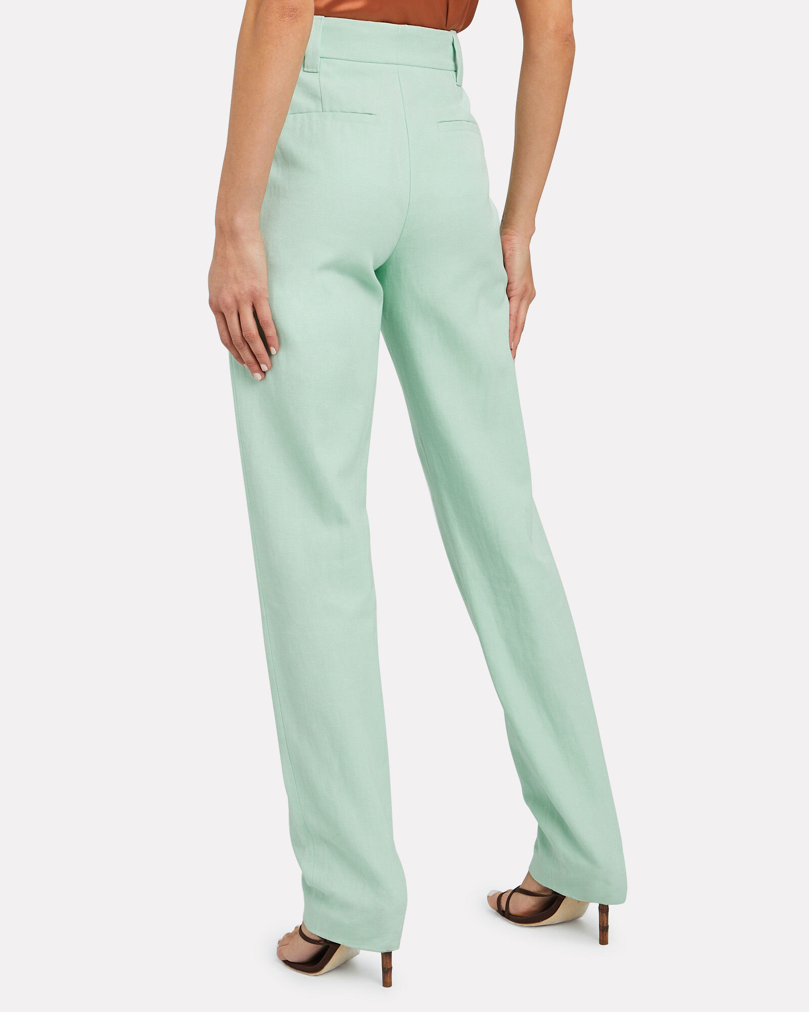 Dixon Relaxed Twill Trousers, GREEN-LT, hi-res