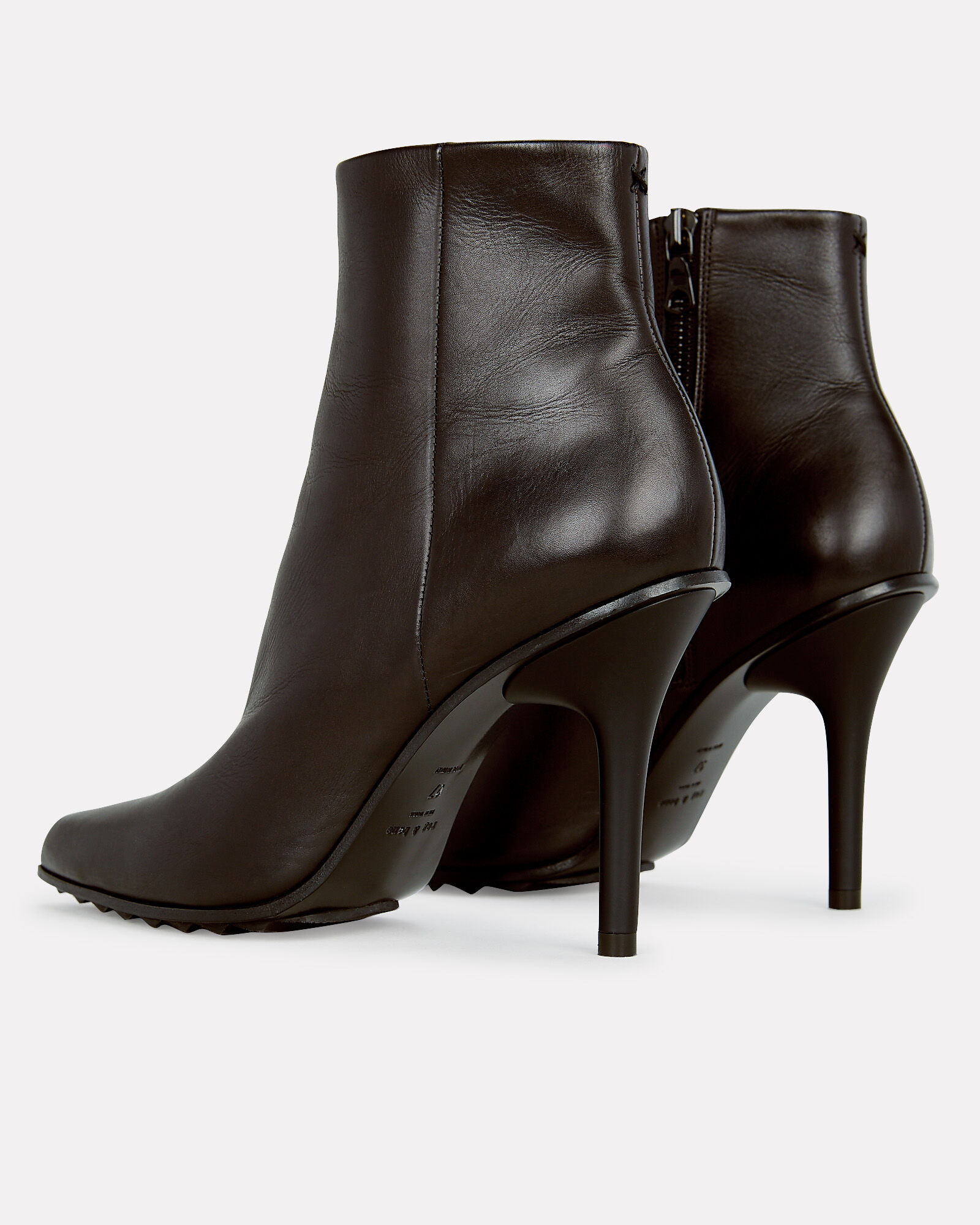 Waylon Leather Ankle Booties, BLACK, hi-res
