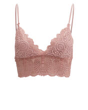 Lace Bralette, BLUSH, hi-res